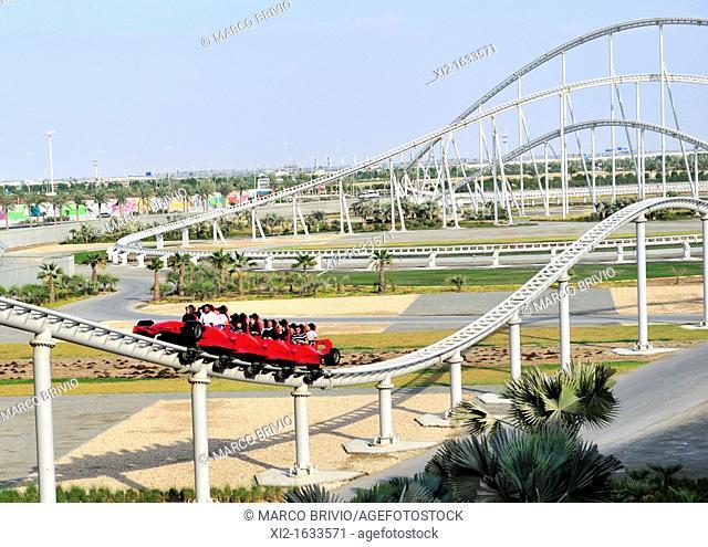 Ferrari World is a Ferrari themed amusement park on Yas Island in