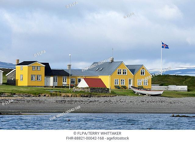 Vigur Island, Westfjords, Iceland. July 2015