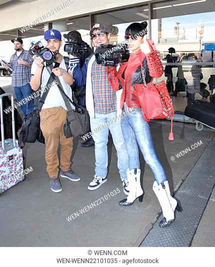 Bai Ling departs from Los Angeles International Airport (LAX) Featuring: Bai Ling Where: Los Angeles, California, United States When: 22 Jan 2015 Credit: WENN