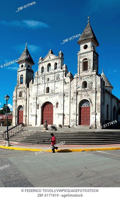 Guadalupe church at Granada. Nicaragua