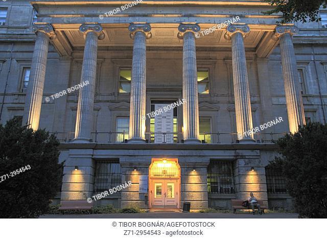 Canada, Quebec, Montreal, Lucien-Saulnier Building, Service des Finances,