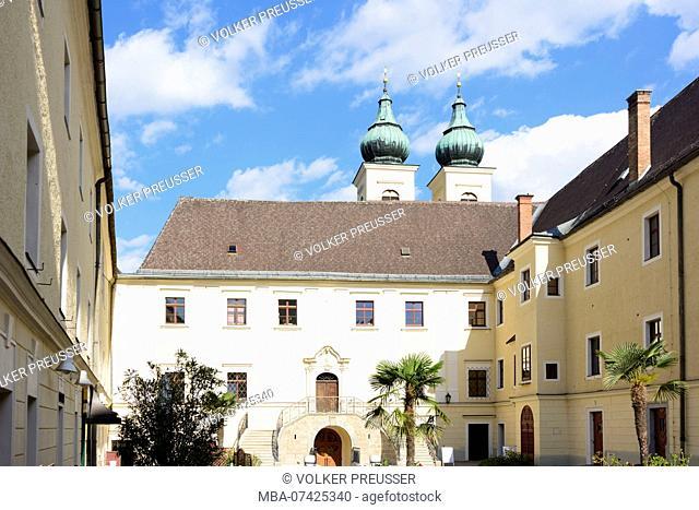 Lambach, Abbey of Lambach monastery, Zentralraum, Upper Austria, Austria