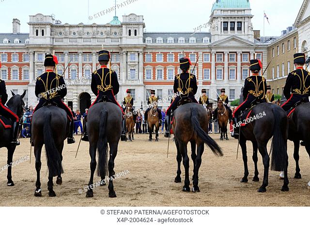 Horse Guards Parade, Whitehall, London, UK