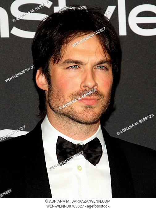 InStyle & Warner Bros. Pictures Golden Globes After Party 2017 held at the Beverly Hilton Hotel Featuring: Ian Somerhalder Where: Los Angeles, California