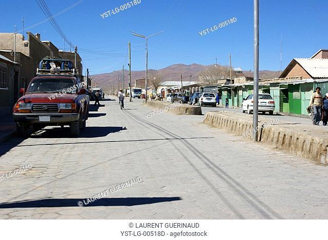 Uyuni, Department of Potosi, Sud Lipez Province, La Paz, Bolívia