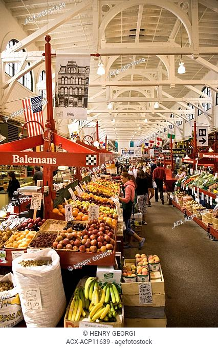 City Market, Saint John, New Brunswick, Canada
