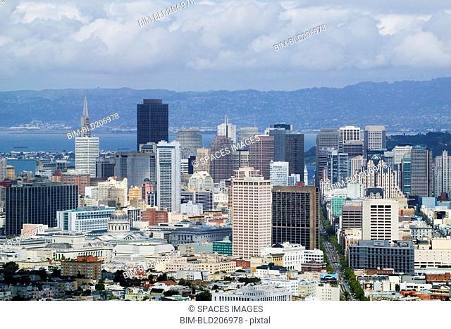 Downtown San Francisco Skyline