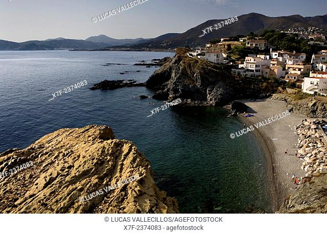 Llança. Gola beach. Costa Brava. Girona province. Catalonia. Spain