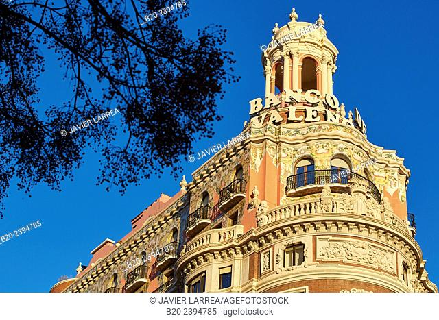 Banco de Valencia bank. Valencia. Comunidad Valenciana. Spain