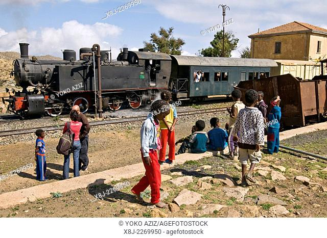 Eritrean railways, From Asmara to Massawa, Nefasit, Eritrea