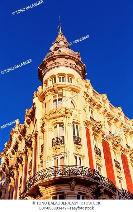 Cartagena the Grand Gran Hotel Art Noveau architecture in Murcia Spain