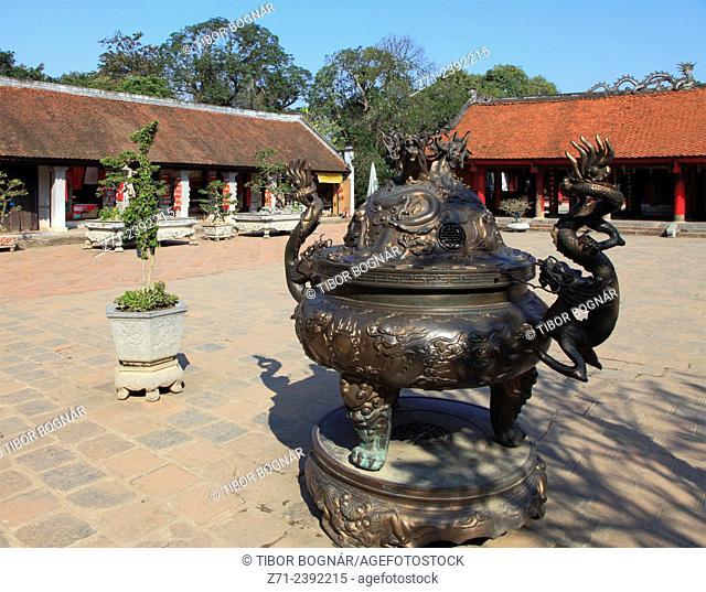 Vietnam, Hanoi, Temple of Literature,