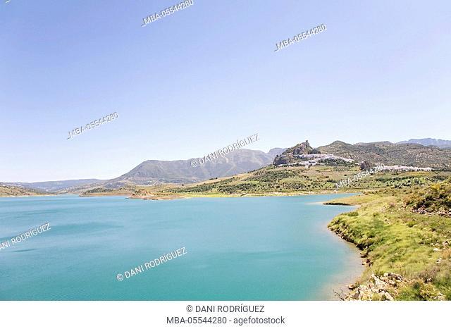 Zahara de la Sierra, Cadiz Province, Andalusia, Spain
