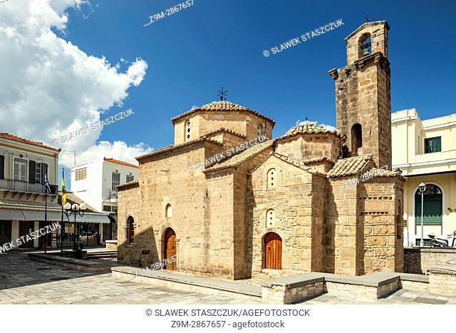 Holy Apostles church in Messenia, Greece