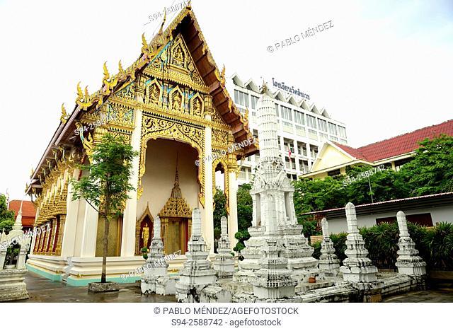 Wat Sangveswit Sayaran in Bangkok, Thailand