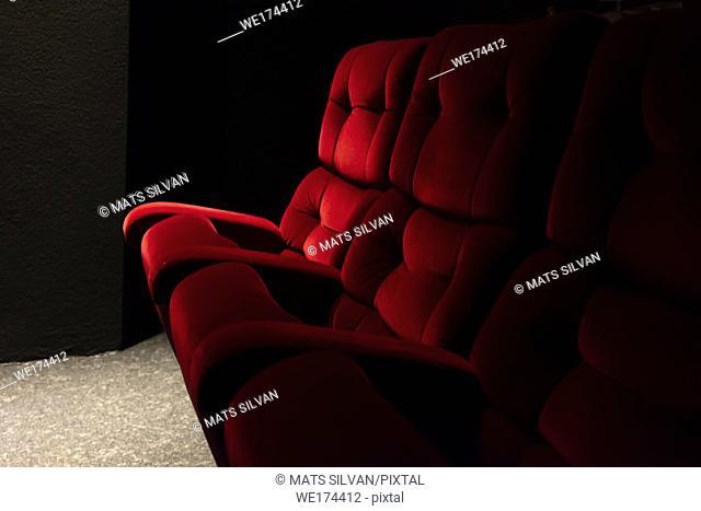 Red Cinema Chair in Switzerland