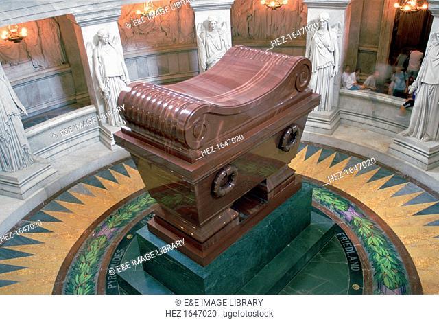 Napoleon's tomb, Dome Church, Les Invalides, Paris, France