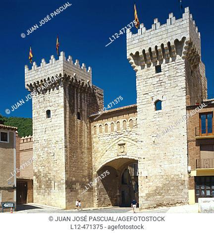Puerta de Abajo (15th century), Daroca. Zaragoza province, Aragón, Spain