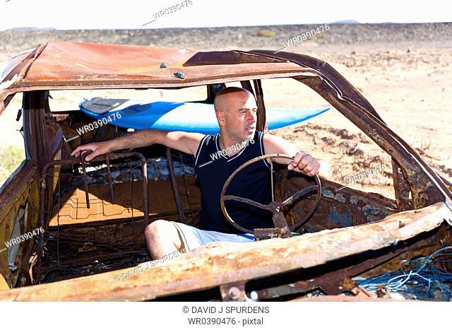 Surfer needs a new set of wheels