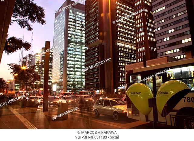 City Urbana, Avenida Paulista, Capital, São Paulo, Brazil