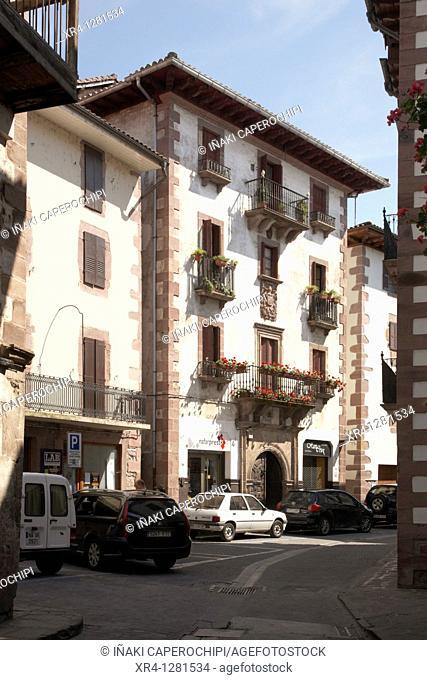 Casa Poskonea, Elizondo, Baztan Valley, Navarra Nafarroa, Spain España