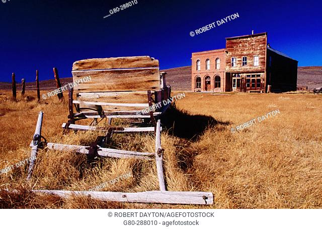 Bodie ghost town. California. USA