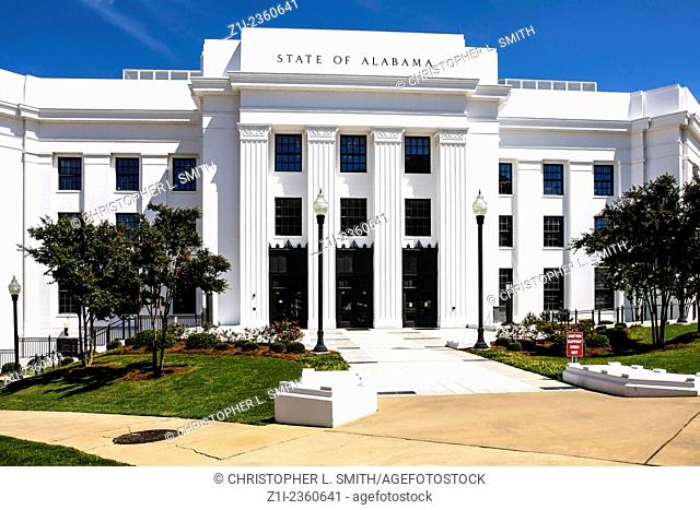Office building of the attorney general of the state of Alabama located in the state capitol of Montgomery