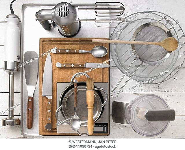 Kitchen utensils required for the recipe