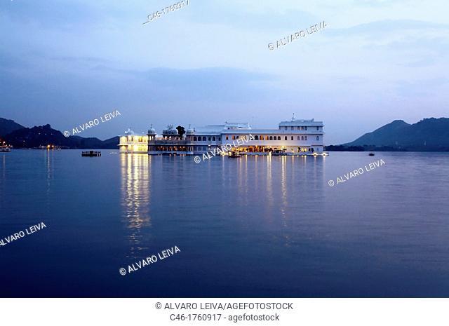 The Lake Palace Hotel, Lake Pichola  Udaipur  Rajasthan  India