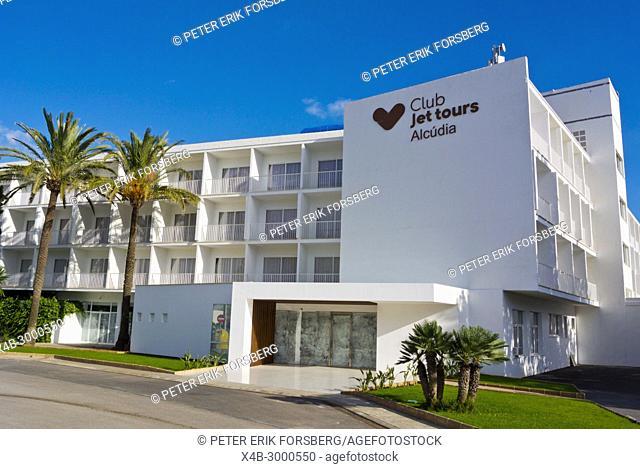 Club Jet Tours Alcudia, all inclusive hotel, Punta Emperador, Mallorca, Balearic islands, Spain