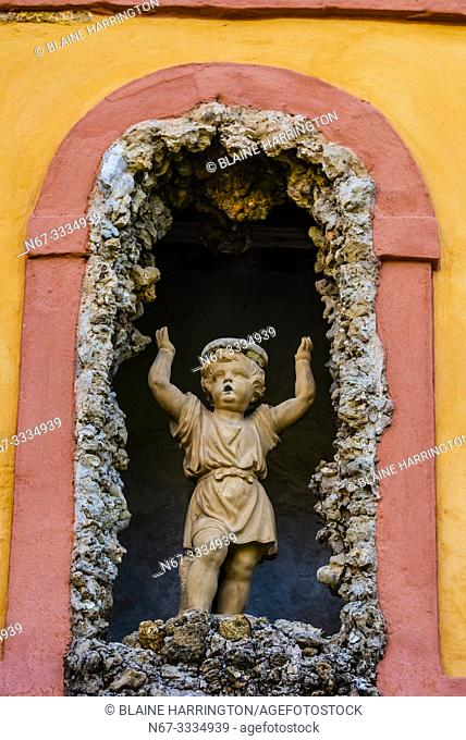 Gardens, The Alcázar of Seville (Real Alcazar) is a royal palace in Seville, Spain, built for the Christian king Peter of Castile