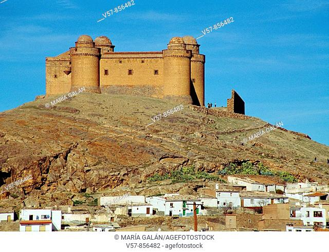 Castle. La Calahorra, Granada province, Andalucia, Spain