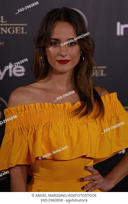 Silvia Alonso attends el jardin de Miguel Angel and In Style beauty night in Madrid, May, 24, 2017 (Photo by Angel Manzano).