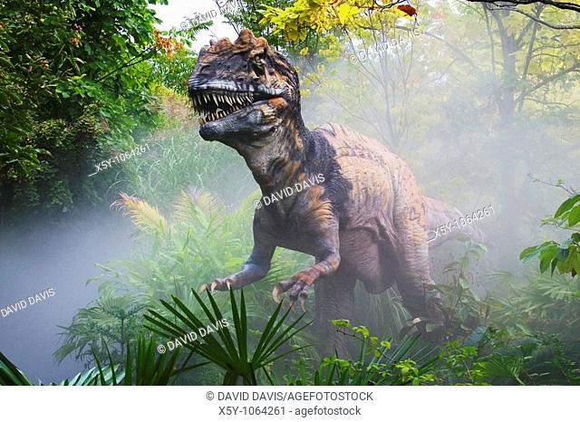 Metriacanthosaurus which means 'moderately spined' dinosaur from the late Jurassic period  Goes to a length of 27 feet and weighted 1 ton  Was a meat eater...