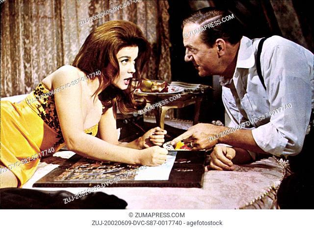 1965, Film Title: CINCINNATI KID, Director: NORMAN JEWISON, Studio: MGM, Pictured: ANN-MARGRET, BOUFFANT, KARL MALDEN, CONFLICT, AGGRESSIVE MALE