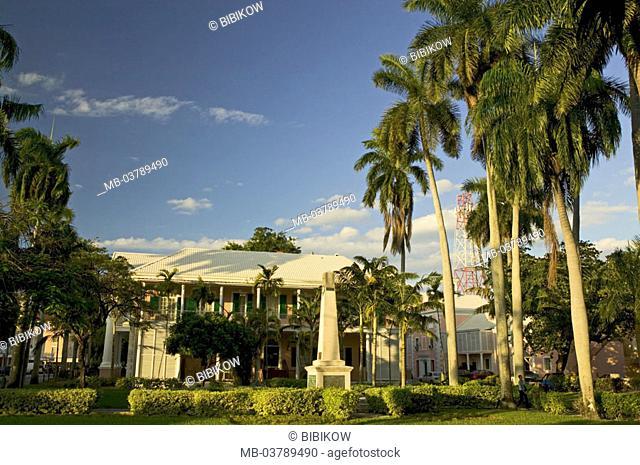 Bahamas, Nassau, park, place, Parliament, Parliament Square