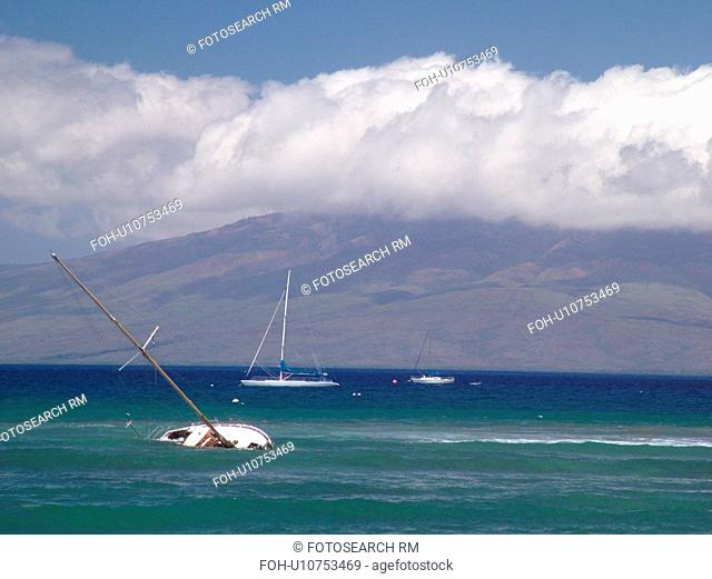 Lahaina, Maui, HI, Hawaii, West Maui, Auau Channel