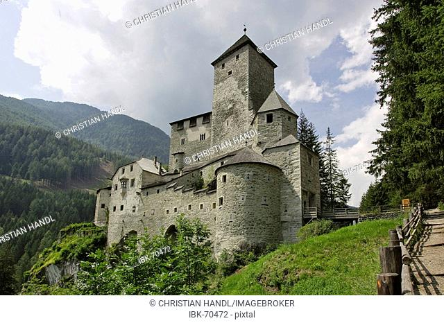 Castle situated above the village Sand in Taufers South Tyrol Italy