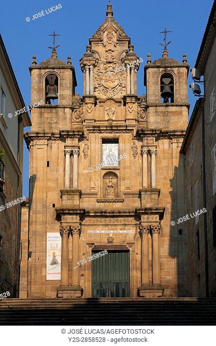 Church of Santa Maria Nai (or La Mayor), Orense, Region of Galicia, Spain, Europe