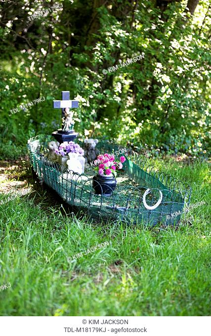 The gypsy boys grave, Suffolk, Newmarket, UK