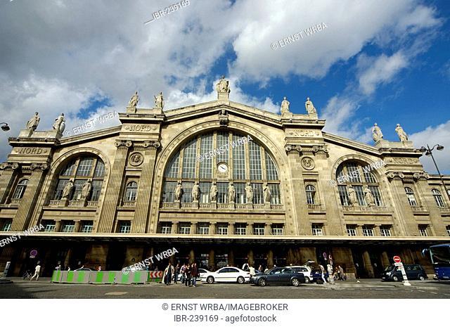 North Railway Station, Paris, Ile-de-France, France