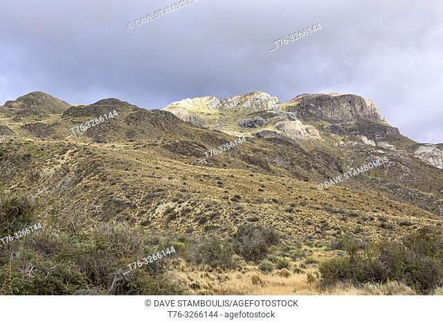 Scenery in beautiful Patagonia National Park, Aysen, Patagonia, Chile