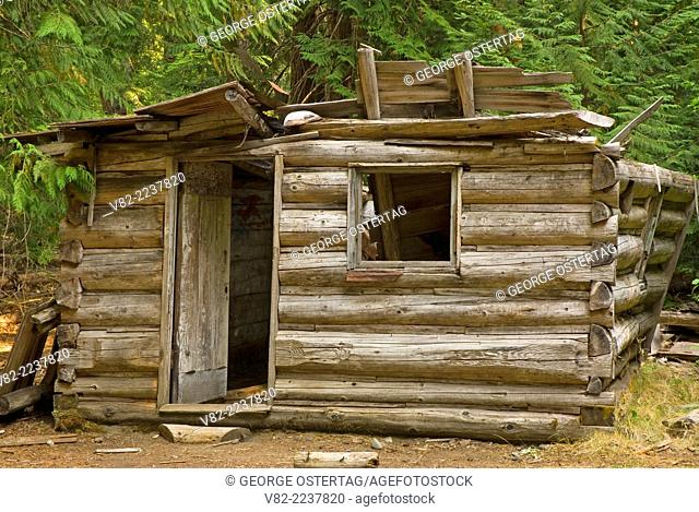 Beebe Cabin, Okanogan National Forest, Washington