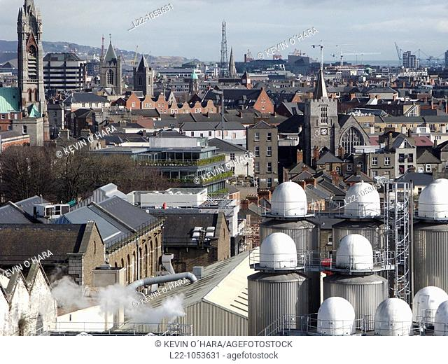 Guinness Brewery, Guinness is a popular Irish dry stout that originated in the brewery of Arthur Guinness (1725-1803) at St  James's Gate, Dublin