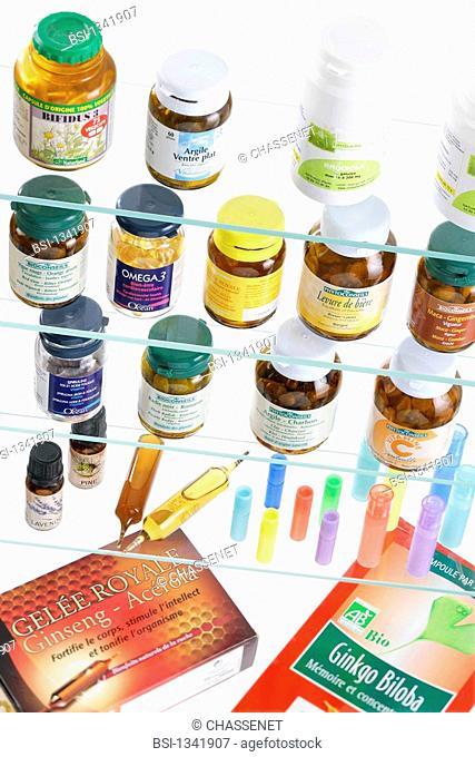 ALTERNATIVE MEDICINE Food supplements, homeopathy and herbal medicine