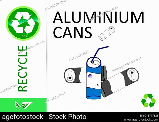Please recycle aluminium cans