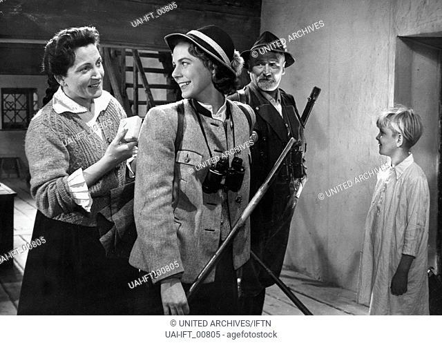 Wer die Heimat liebt, Österreich 1957, Regie: Alfred Solm, Darsteller: Hermann Ehrhardt, Christl Erber
