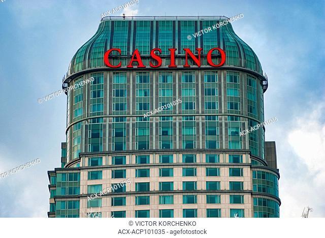 Niagara Falls casino on the Canadian side