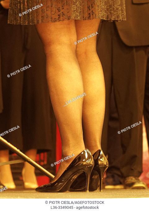 Woman's legs. Poland
