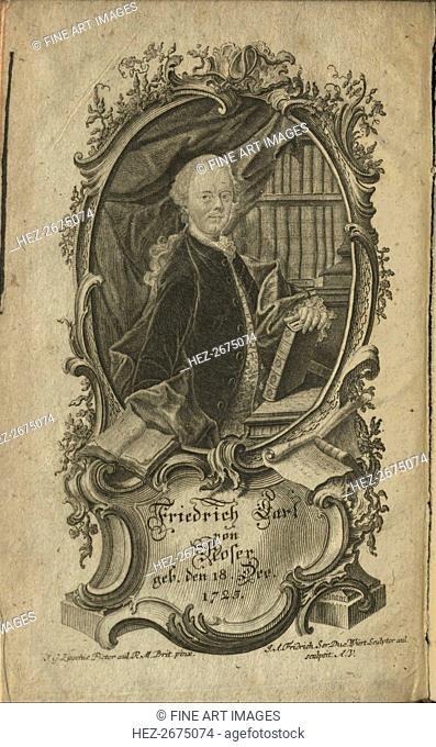 Portrait of Friedrich Karl Freiherr von Moser (1723-1798), 1775